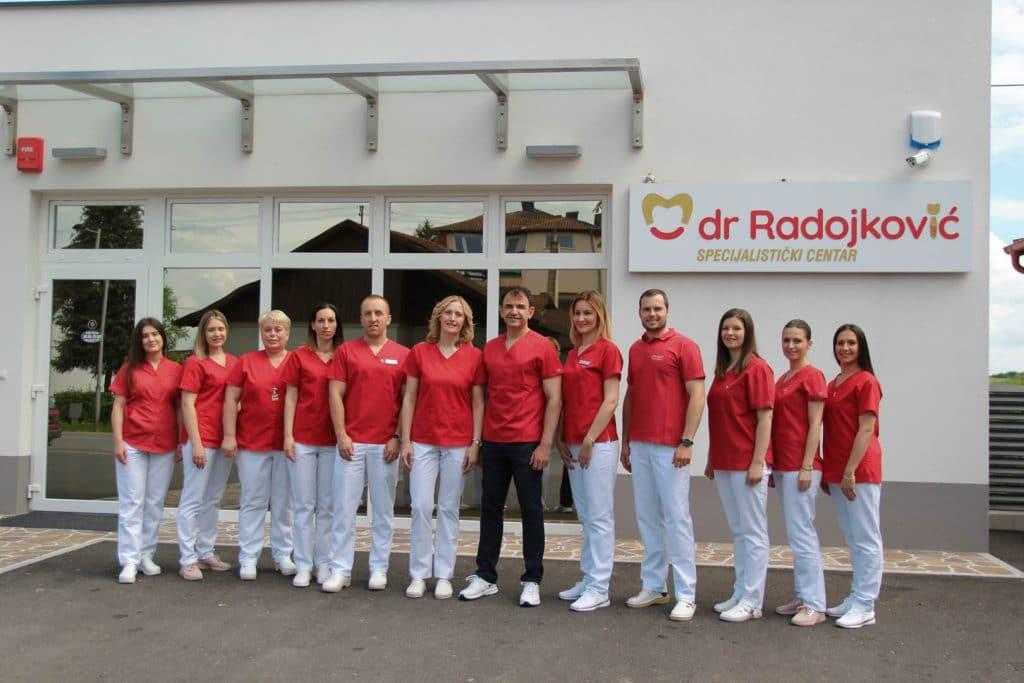 Zaposleni u Specijalističkom centru dr Radojković