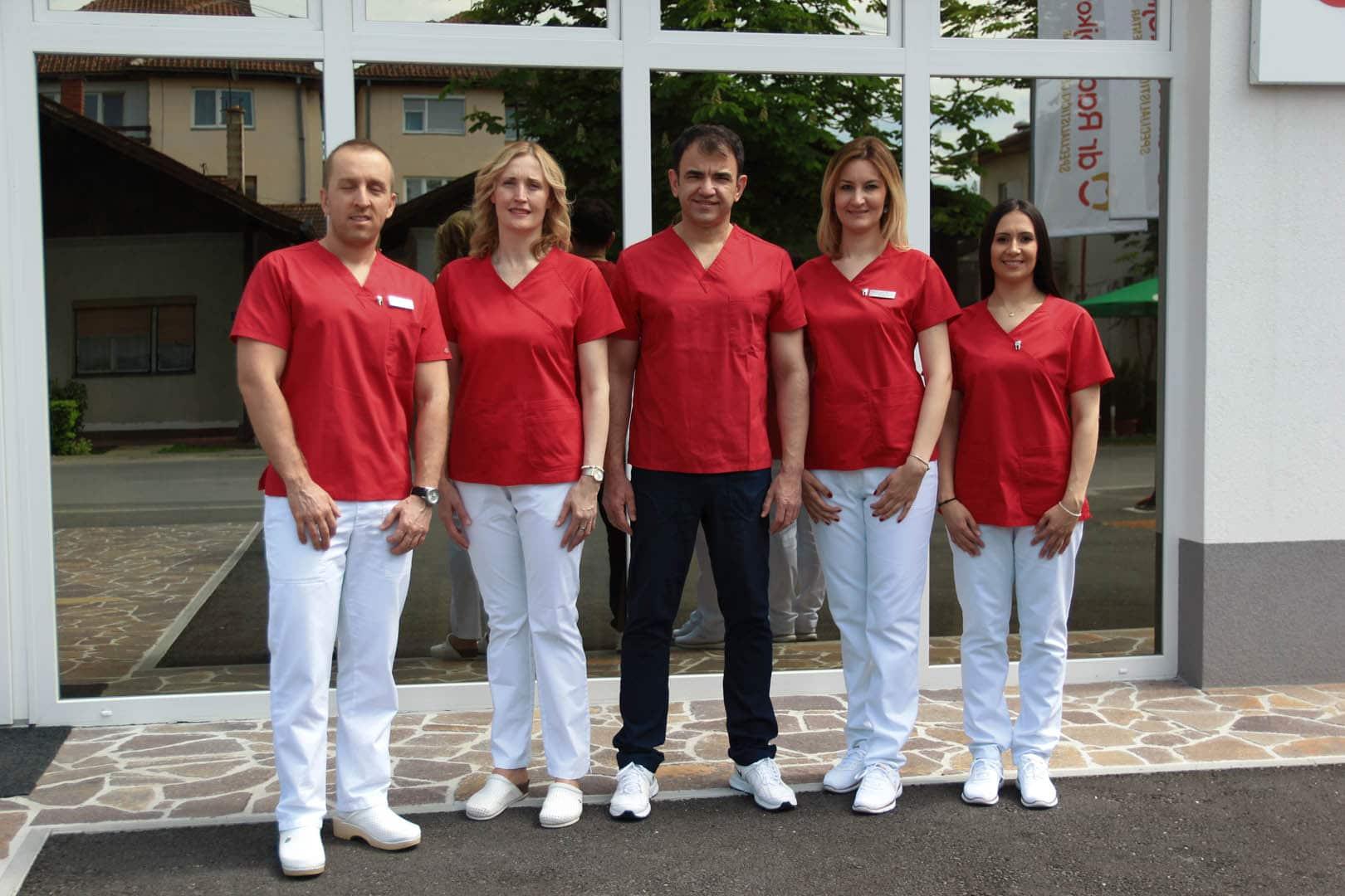 Doktori u Specijalističkom centru Radojković
